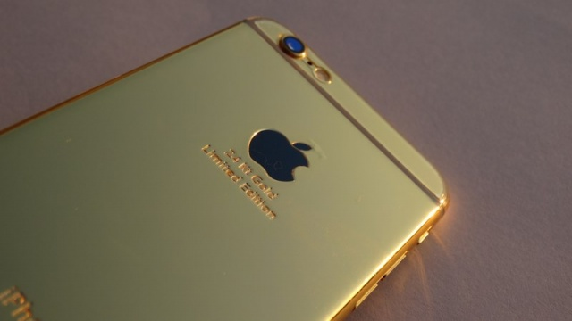 Фото обзор iPhone 6 24Kt Gold Special Edition